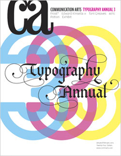 Communication Arts 2013 Typography Annual